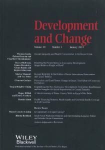 DEVELOPMENT AND CHANGE